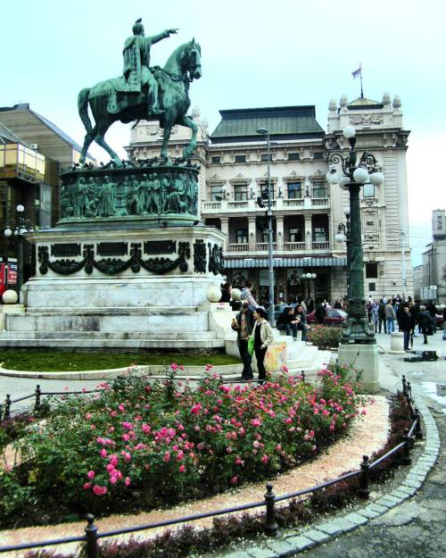 REPUBLIC SQUARE AND NATIONAL THEATER
