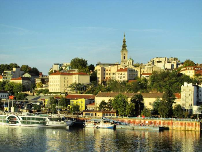 VIEW FROM USCE TO THE OLD TOWN